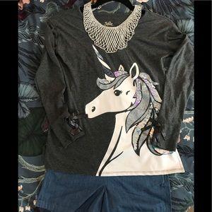 🦄 Unicorn Justice Top EUC - Size 10 🦄